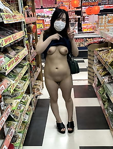 Asian girlfriend is having fun