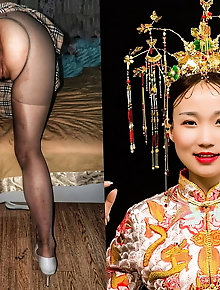 Chinese Exhibition tights